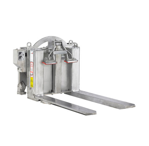 Retourneur hydraulique CM 165 FLAP INOX