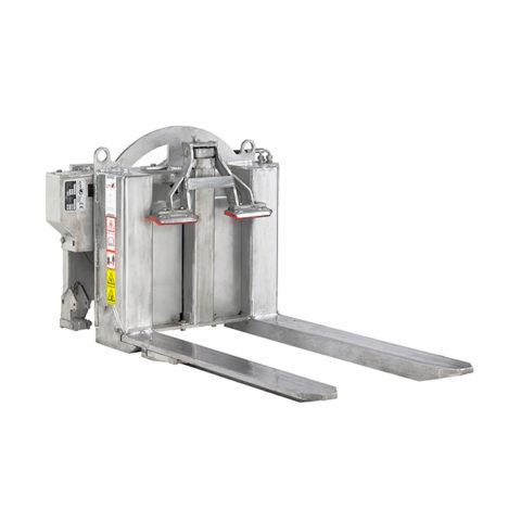 Volteador hidráulico CM 165 FLAP INOX