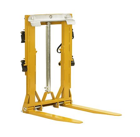 Hydraulic load clamp multibins
