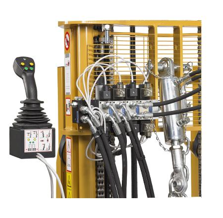 Distribuidor electro hidráulico proporcional