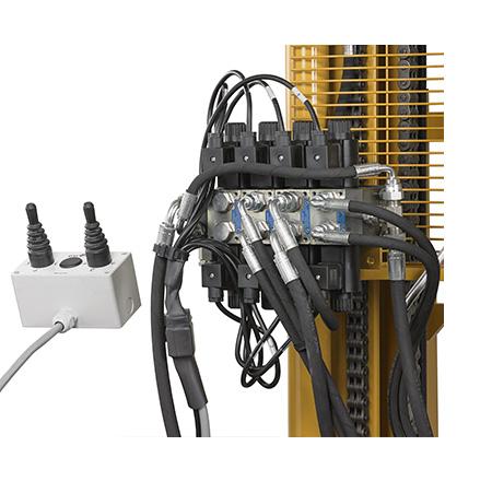 Distribuidor electro hidráulico