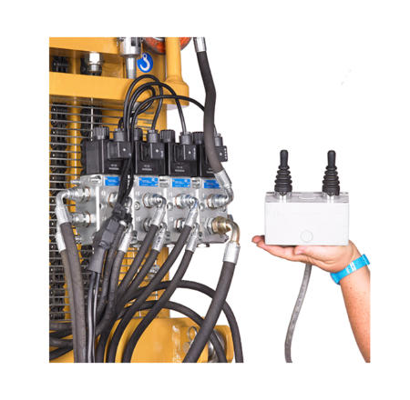 Electro hydraulic distributor