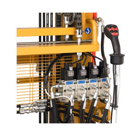 Electro hydraulic selector