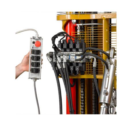Proportional electro hydraulic distributor
